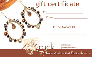 A Pretty Rock Gift Certificates - The Perfect Gift!