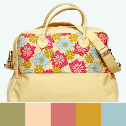 Baby Me Weekender Bag - Simone Rose Design by Baby Me Bags on Etsy