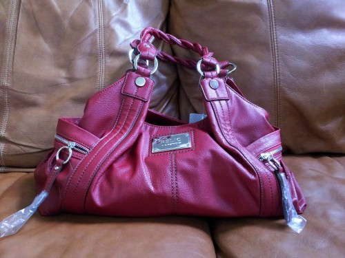 Red Relic Handbag