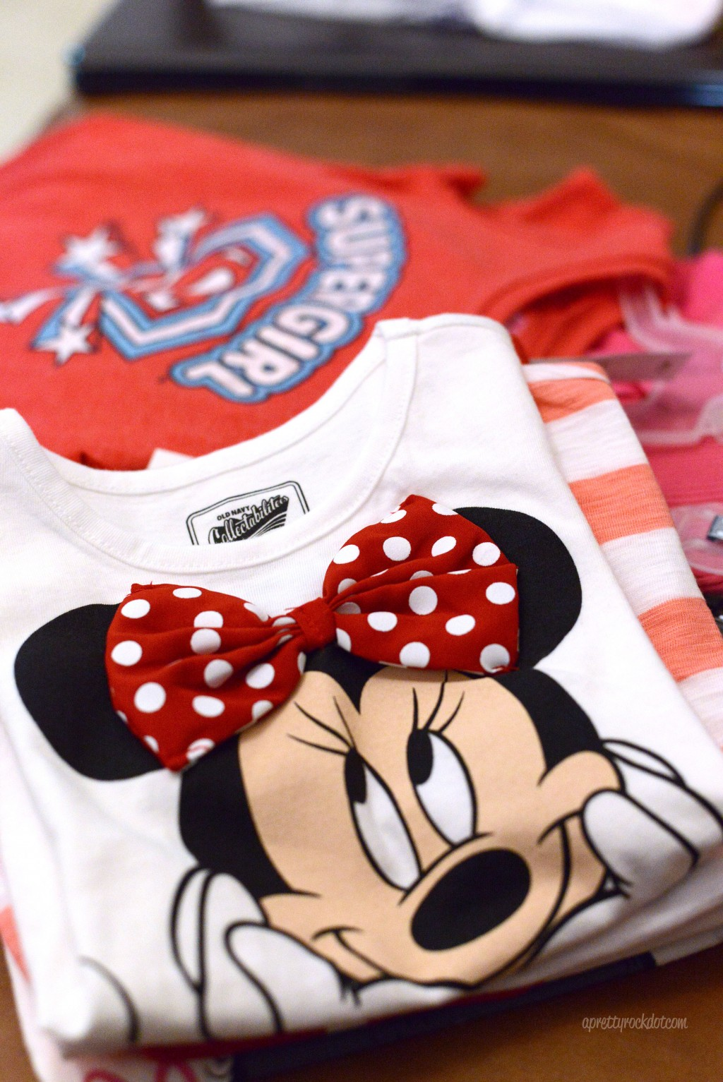 Minnie Mouse and SuperGirl T-Shirts
